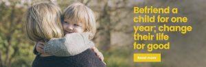 Befriend a child in Hampshire