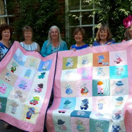Quilt donation!