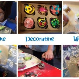 Cake decorating workshop