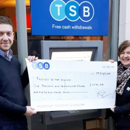 TSB Winchester raises over £1,000 for Friends of the Family