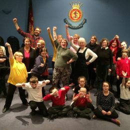 Theatre Royal staff lead Drama Workshop