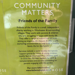 Support us with your green token at Waitrose Winchester!