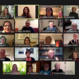 AGM is a virtual success!