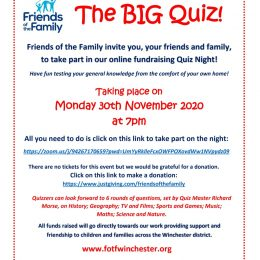 Quiz Night – 30th November 2020!