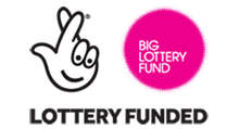 Lottery funded - logo