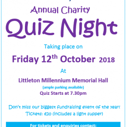 Quiz Night tickets on sale!