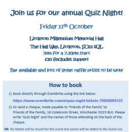 Quiz Night tickets on sale!