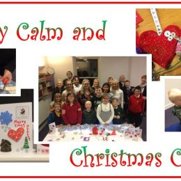 """Stay Calm and Christmas Craft"" workshops!"