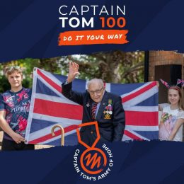 We're taking part in the Captain Tom 100 Challenge!