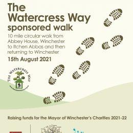 Sponsored Walk – 15th August 2021!