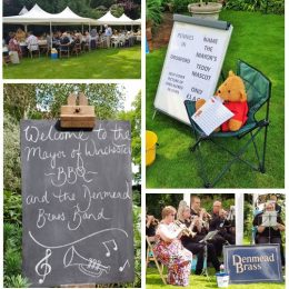 Mayor's BBQ and Denmead Brass Band Fundraiser